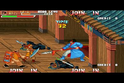 街機:三國戰紀:四劍傳說,輕鬆拿寶劍的修改版!