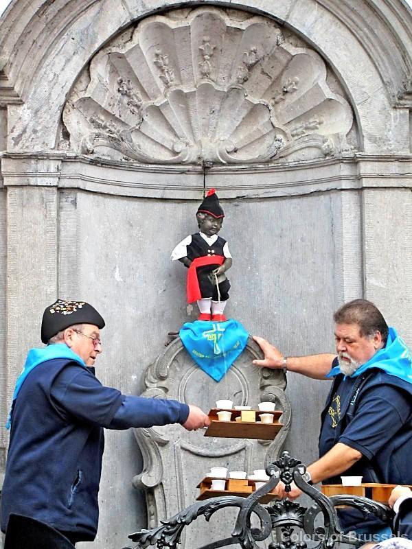 Colors Of Brussels Colorful Tales Of Manneken Pis