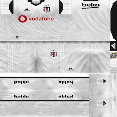 PES 6 Kits Beşiktaş J.K Season 2018/2019 by FacaA/Ngel