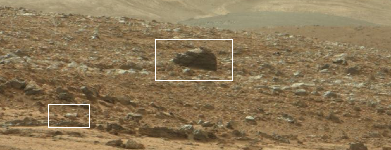 Mars Statue : NASA Mars Curiosity Photographed Buried ...