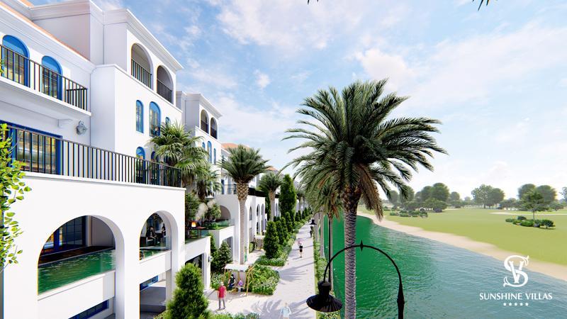 Sunshine villas Tây Hồ.