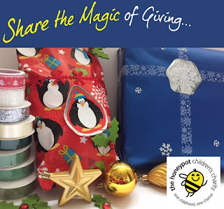 Sharing the magic of giving at Christmas with Sellotape