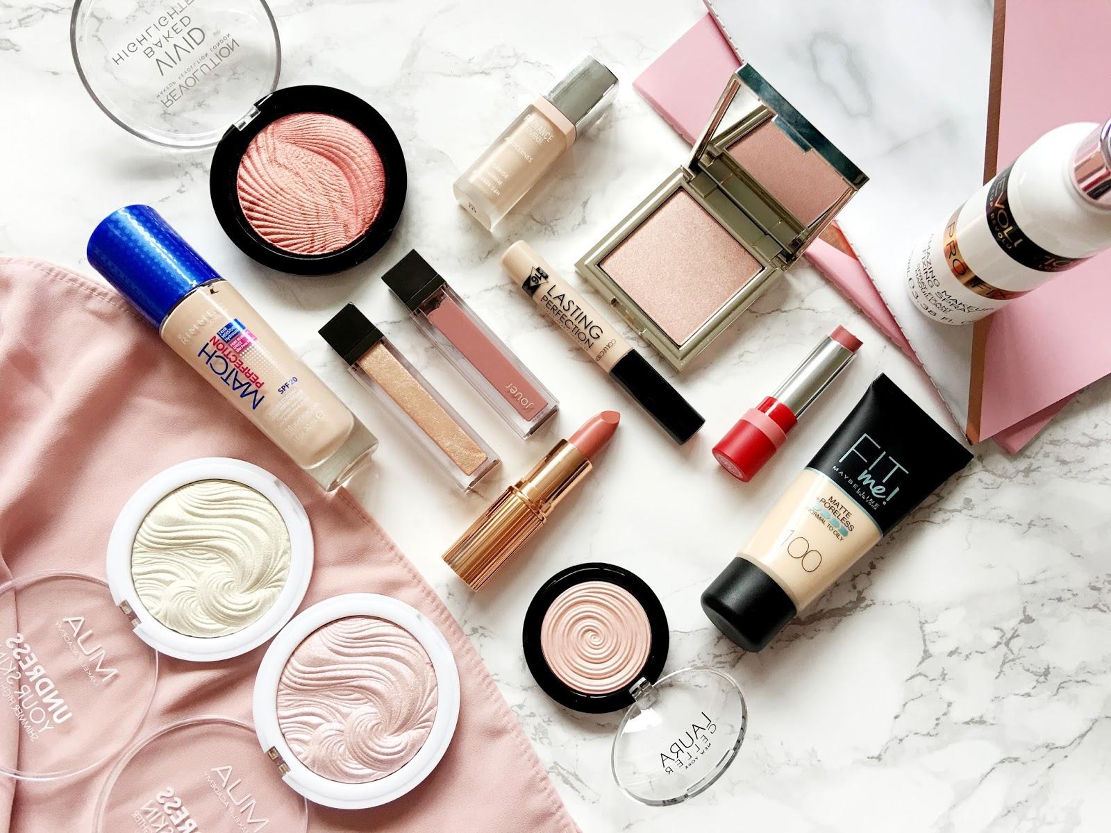 A Collective Makeup Haul