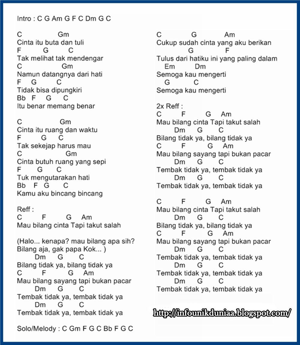 Chord Gitar Ungu: INFO UNIK DUNIA: Berbagai Lagu Dengan Kunci Gitar / Chord