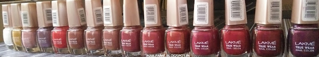 NAIL POLISH HAUL LAKME AND ELLE 18