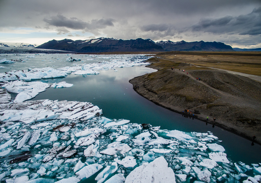 Jökulsárlón - 40 Reasons To Visit Iceland With A Drone