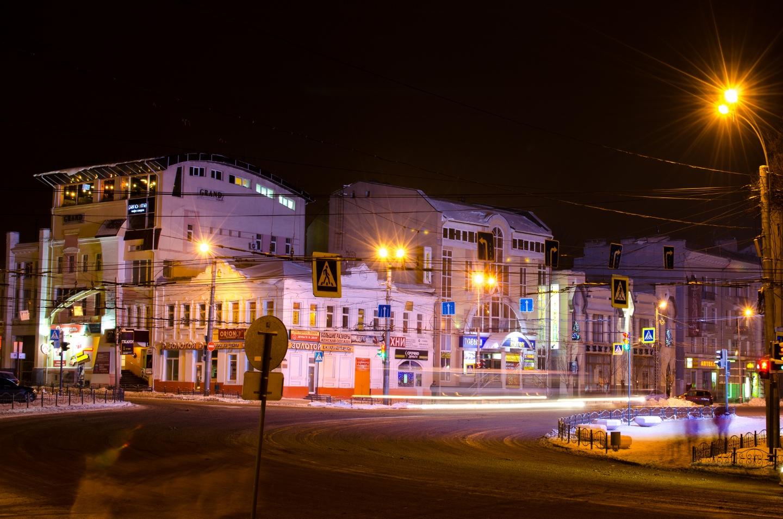 Улица Ленина. Иваново.