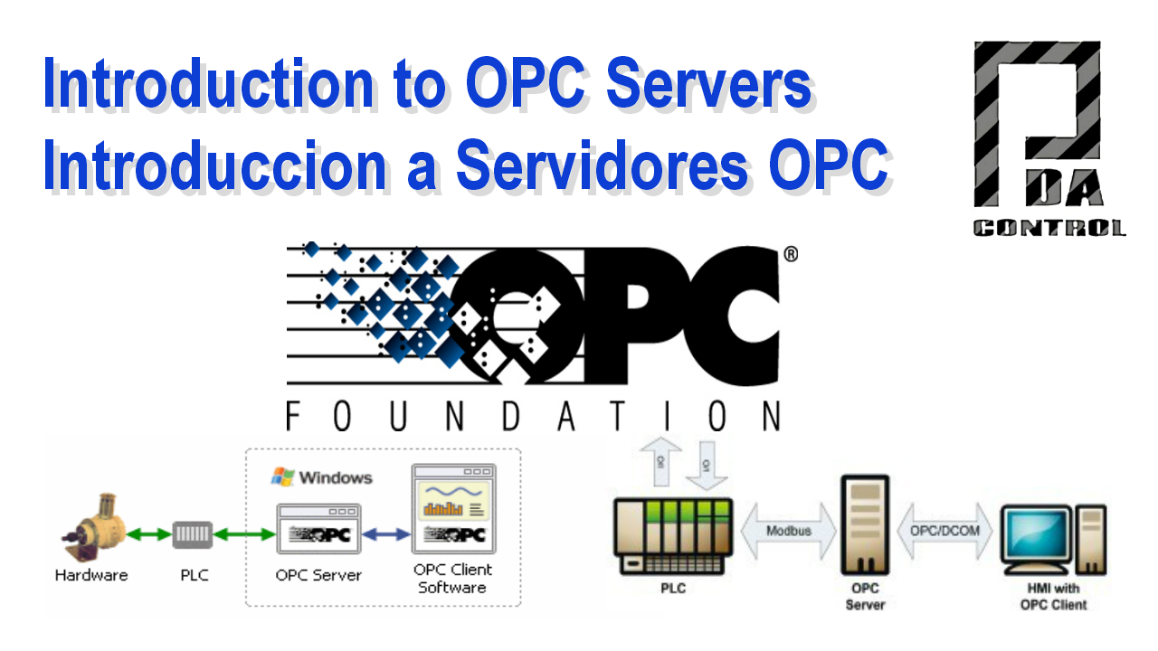 Introduction to OPC Servers - PDAControl