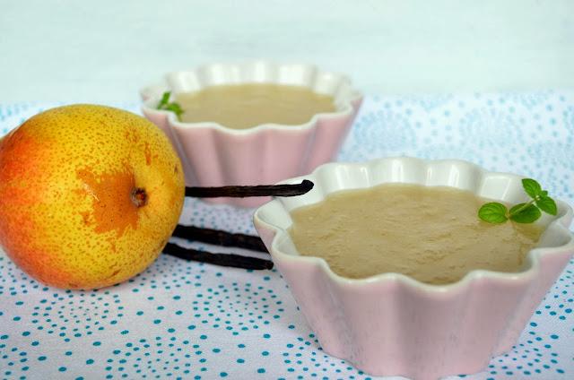 kisiel-gruszkowy Kisiel gruszkowy z wanilią