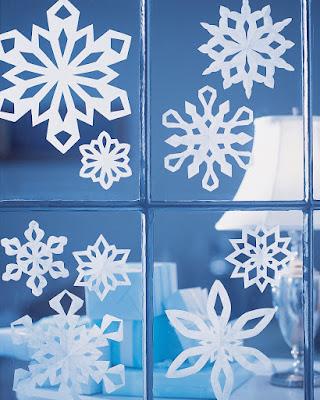 Bông tuyết bằng giấy