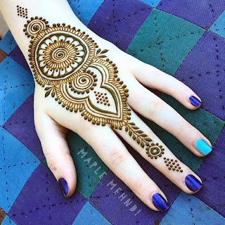 121 Simple Mehndi Designs For Hands Easy Henna Patterns With Images Bling Sparkle