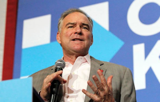 Despite Ted Strickland Remark, Tim Kaine Says Hillary Clinton Will Soon Be Back On Campaign Trail