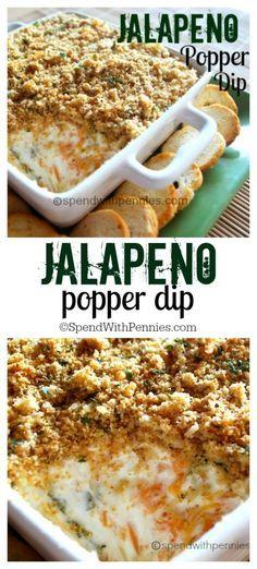Jalapeño Popper Dip #appetizer #jalapeno #dip