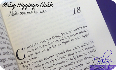Livre - Noir comme la mer : Mary Higgins Clark
