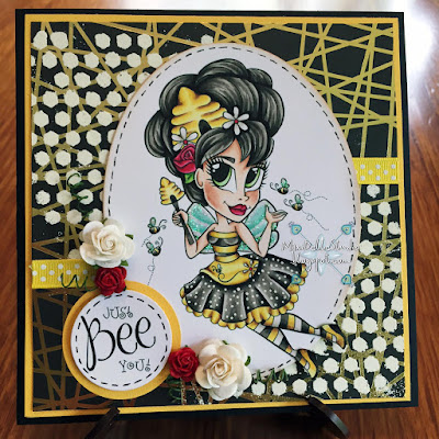 Simply B Stamps Beehive Queen