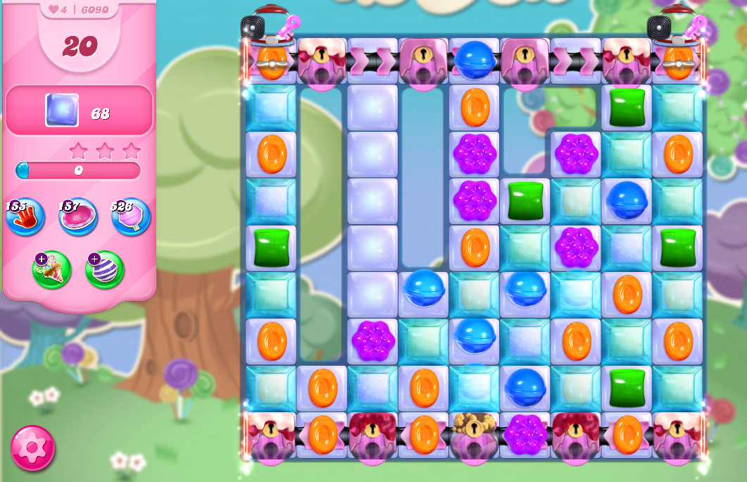 Candy Crush Saga level 6090