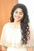 Megha Akash in beautiful Cream Transparent Anarkali Dress at Pre release function of Movie LIE ~ Celebrities Galleries 062.JPG