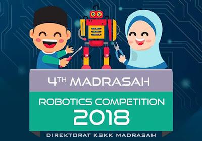 Kompetisi Robotik Madrasah Tahun 2018