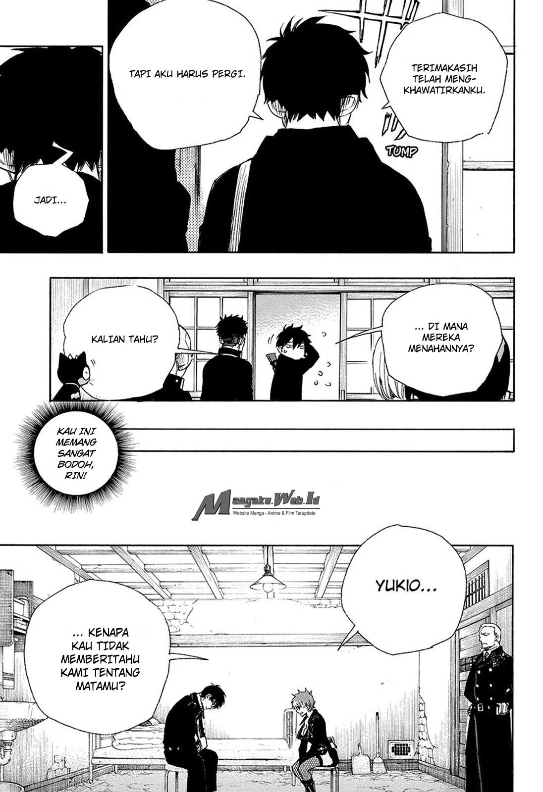Ao no Exorcist Chapter 95-28