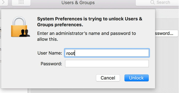 mac-os-password-hack macOS High Sierra Bug Lets Anyone Gain Root Access Without a Password - mac os password hack - macOS High Sierra Bug Lets Anyone Gain Root Access Without a Password