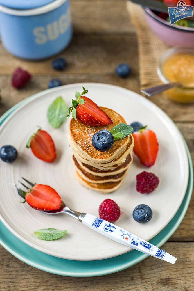 Placuszki na śniadanie bez glutenu