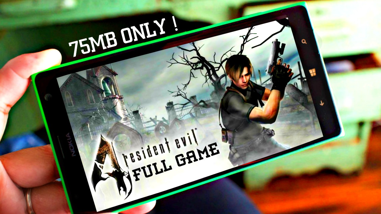 Download Resident Evil 4 On Android In 75MB Only | APK +