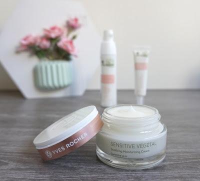 S.O.S. peau sensible - Crème Hydratante Apaisante - Sensitive Végétal de Yves Rocher