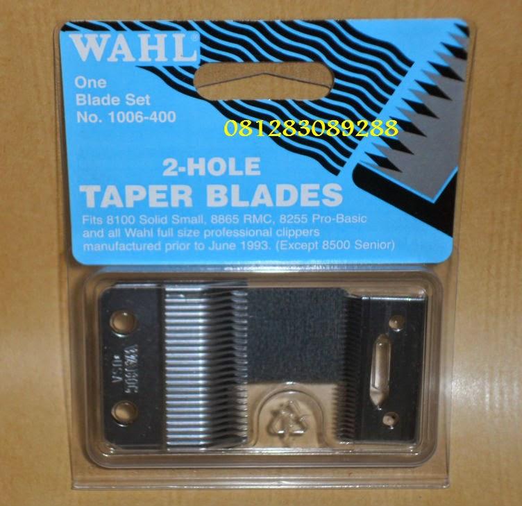 Jual mata pisau clipper   taper blade wahl clipper. Kami juga menjual Mata  pisau untuk alat cukur rambut ... e4af0f0348