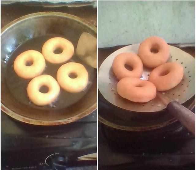 Resep Kue Donat Ekonomis Tanpa Kentang, Tanpa telur, No Mentega