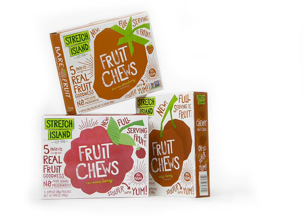 Stretch Island Fruit Company On Packaging Of The World