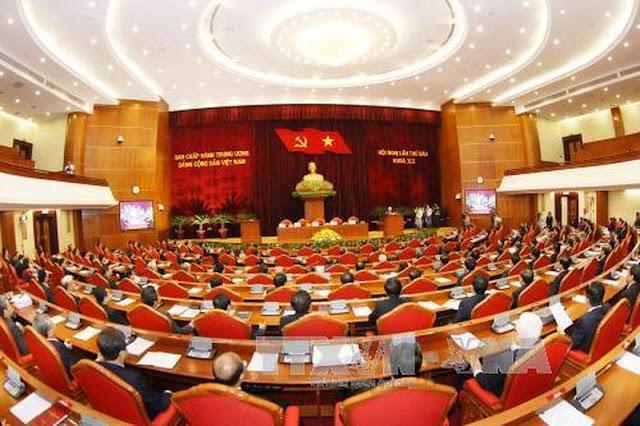Toàn cảnh bế mạc Hội nghị lần thứ sáu Ban Chấp hành Trung ương Đảng khóa XII