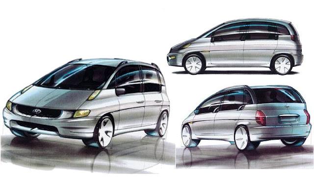 Konsep Hyundai Matrix pininfarina