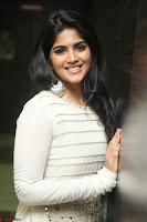 Megha Akash in beautiful White Anarkali Dress at Pre release function of Movie LIE ~ Celebrities Galleries 067.JPG