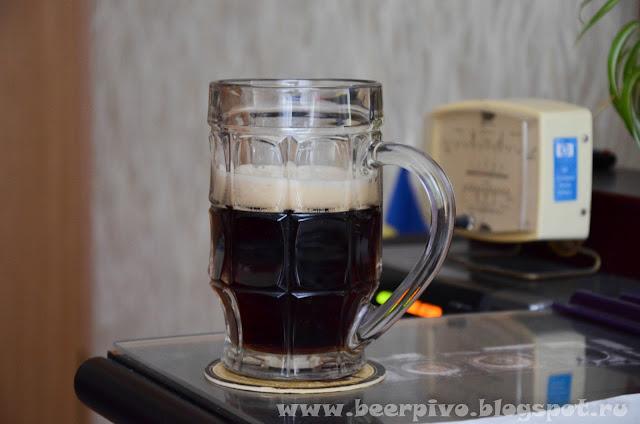 Dark beer Noir de brogelonne