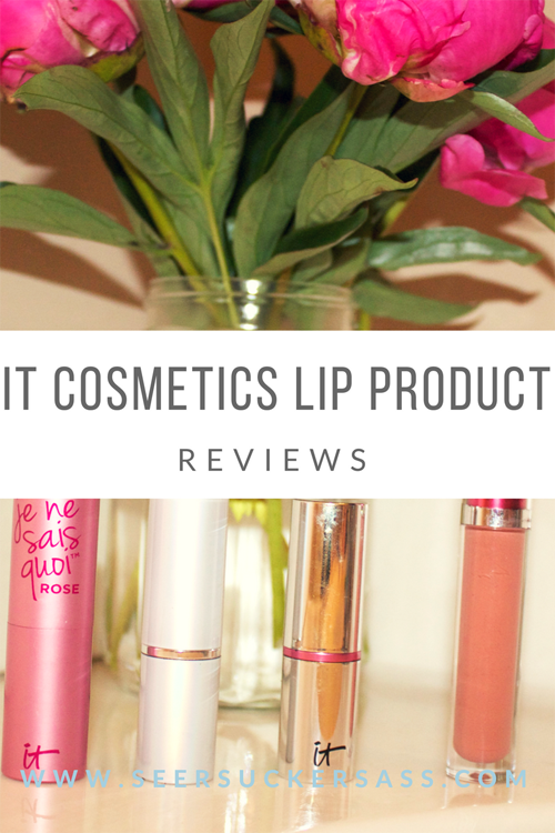 My Favorite IT Cosmetics Lip Products