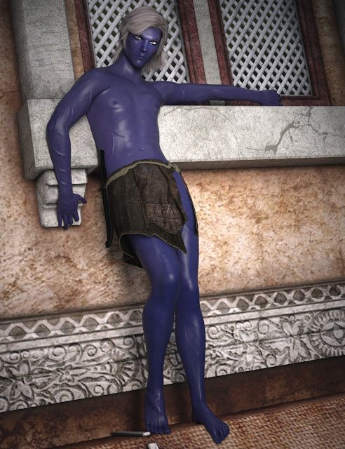 SY The Blue Ones Genesis 3 Male