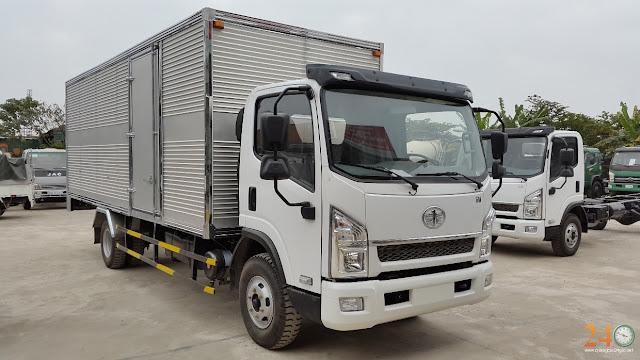 Thông số xe tải thùng 6 tấn