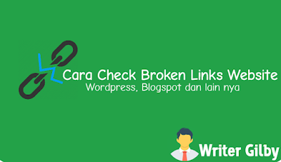 Cara Check Broken Links Website