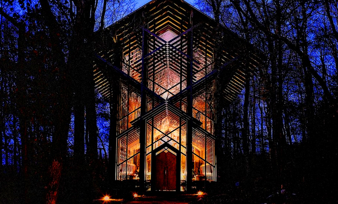 Thorncrown Chapel Wedding Venue