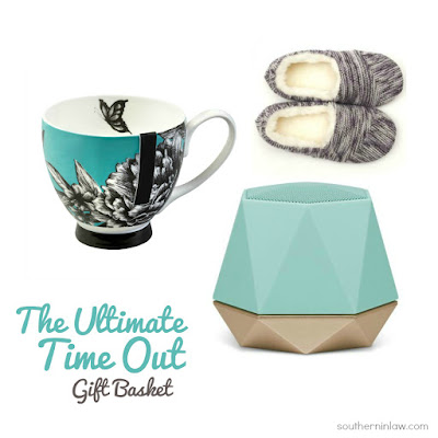 The Ultimate Time Out Gift Basket - Budget Friendly Mother's Day Gift Ideas Under $50 - Unique Mother's Day Gift Ideas for Women, Relaxation