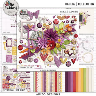 Dahlia  Collection by Akizo Designs
