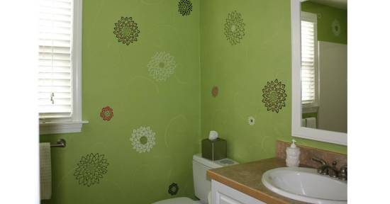 Bare Walls with Faux Finish Ideas 10