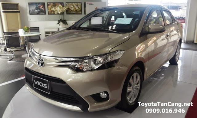 Thiết kế trông rất mạch lạc và thể thao trên Toyota Vios 2015
