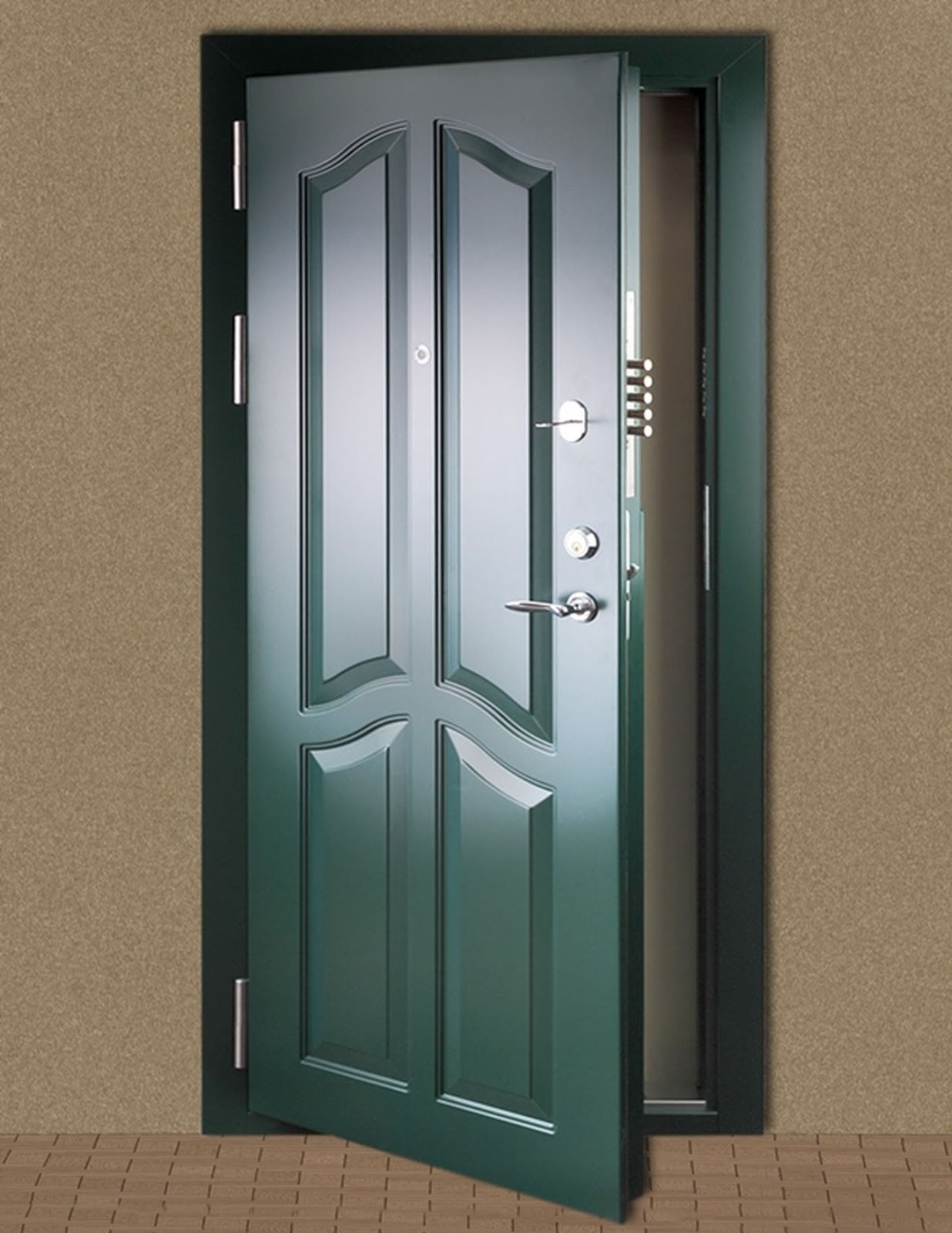 Door to the world: Entrance doors and home security