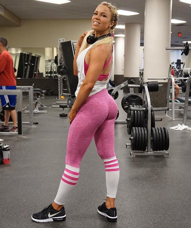Fitness Model Lauren Drain Kagan motivation photos