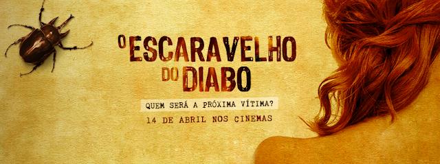 Poster de divulgação de O Escaravelho do Diabo - blog Mineira sem Freio