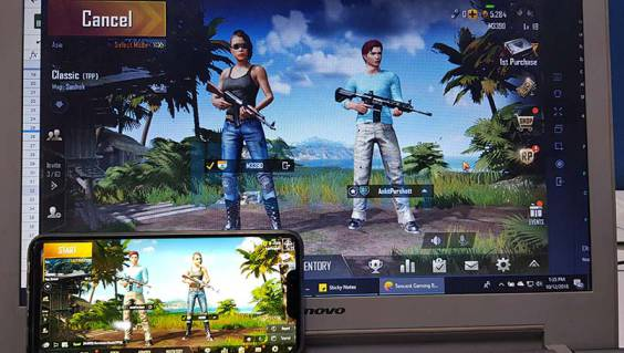 PUBG Mobile Emulator and Mobile Players