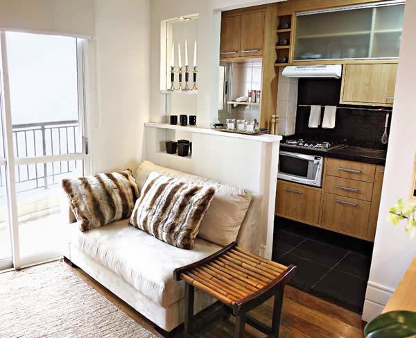 Decoracion de espacios ambientes integrados diseno de for Decoracion espacios pequenos sala comedor