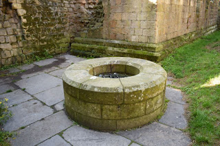 remains of and old Well at Castle Keep, Newcastle upon Tyne. September 2017