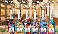 Logo Vinci gratis bottiglie 958 Santero Pupazza